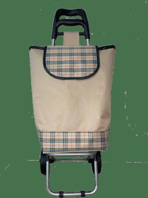 Тележка хозяйственная с сумкой из ткани