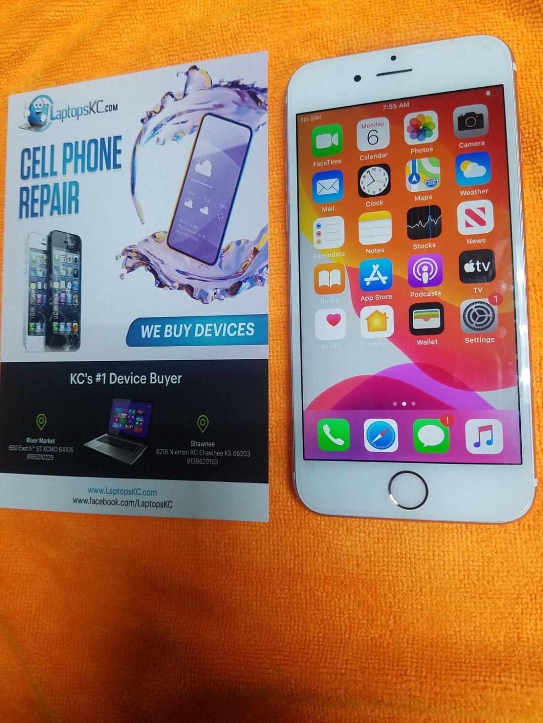 iPhone 6s 32GB Storage Rose Gold Sprint only