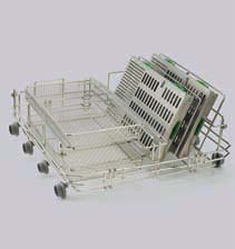 HYDRIM C51w Rack for 2 Baskets & 2 Cassettes