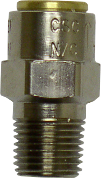 Pressure relief valve fitting for steam generator 01-106787S