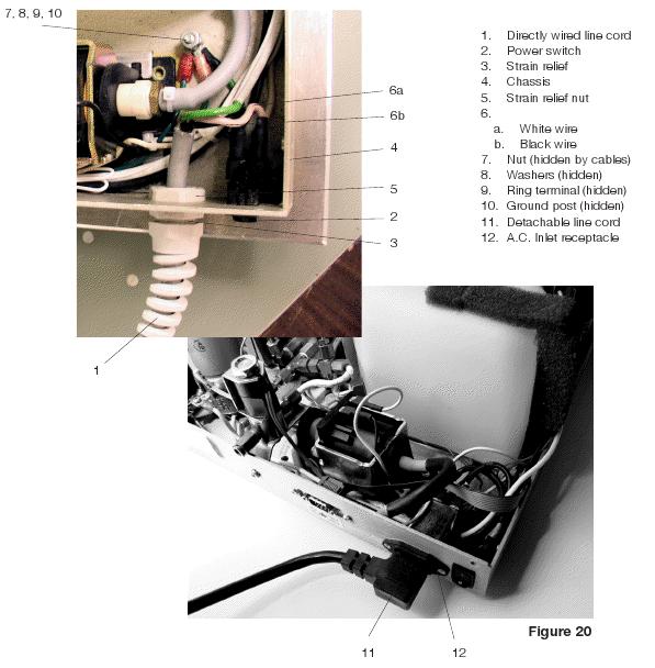 Power Cord for STATIM 2000, 5000 & 900 01-101647S