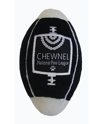 Dog Diggin Designs Chewnel Football Toy