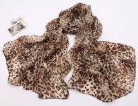 Leopard print long scarf | Infinity Scarves & Shawls ...