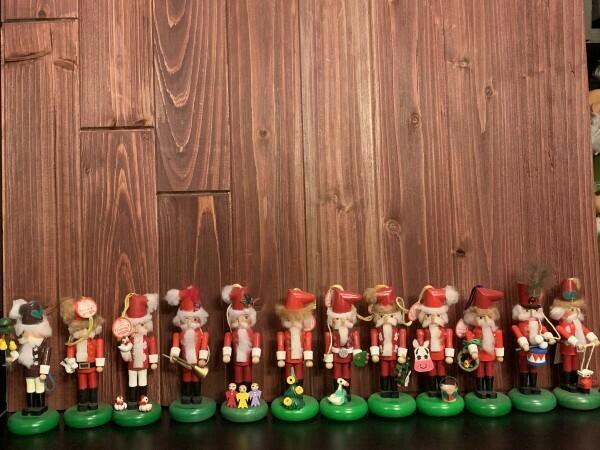 12 Days of Christmas Mini Nutcracker Set