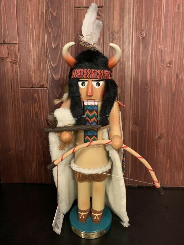 Chef Red Cloud Nutcracker