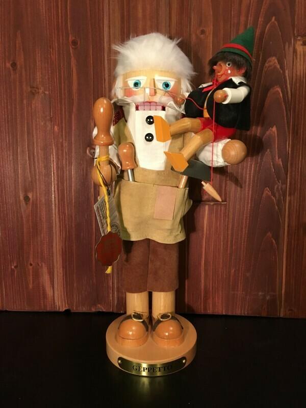 Geppetto & Pinnochio Nutcracker