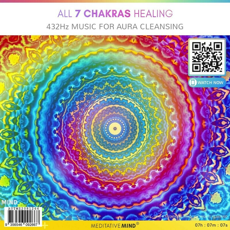 ALL 7 CHAKRAS HEALING - 432Hz Music for Aura Cleansing