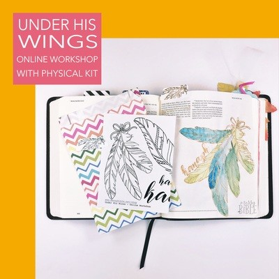 Under His Wings (Online Workshop with Digital Kit)