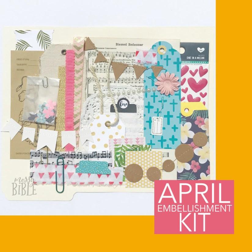 April Embellishment Kit 3020