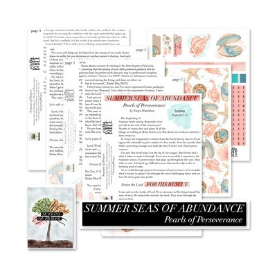 Summer Seas of Abundance - Seasons of Prayer (Digital Kit)