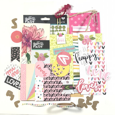 All About Love Embellishment & Extras Kit