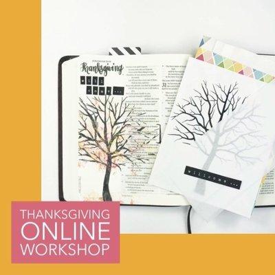 Thanksgiving - Online Workshop
