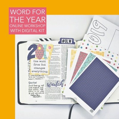 Word for the Year (Online Workshop with Digital Kit)