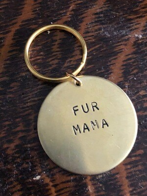 Fur Mama Keychain