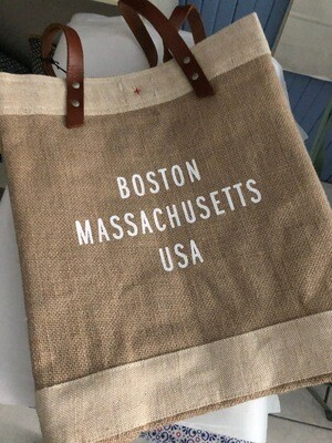 Boston Mass Shopping Tote