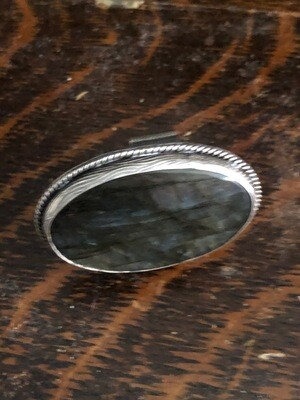 Labradorite & Sterling Silver Ring