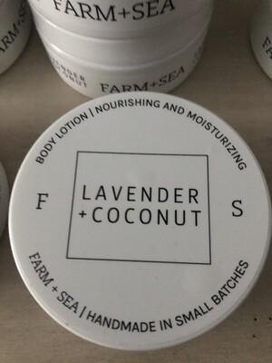 Lavender Coconut body cream