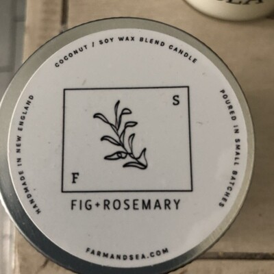 Fig & Rosemary Candle - 3.5 oz.