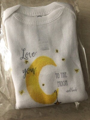 Love You To The Moon Onesie - 12 Months