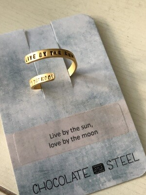 Live By The Sun Ring