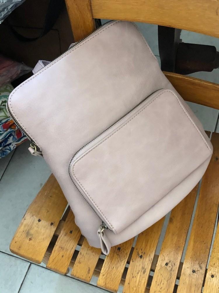 Mini Backpack - Light Pink