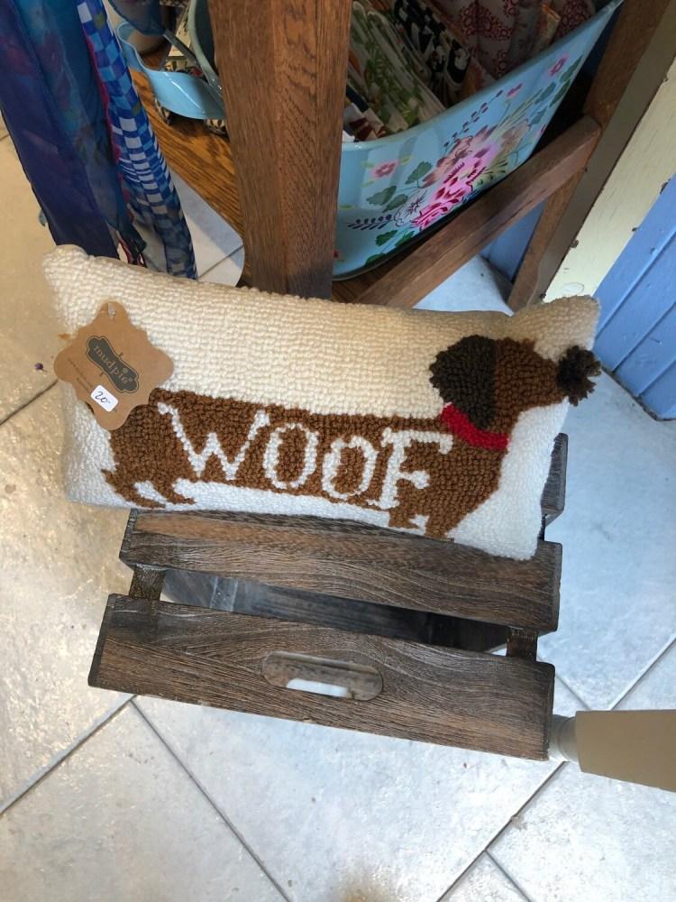 Tiny Woof Pillow