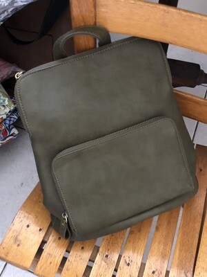 Mini Backpack - Dark Olive