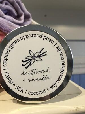 Driftwood & Vanilla Candle - 7.5 oz.