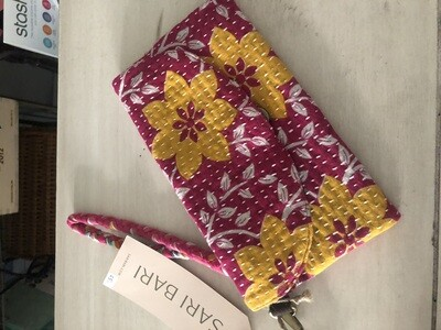 Protima Wallet - Yellow Flowers