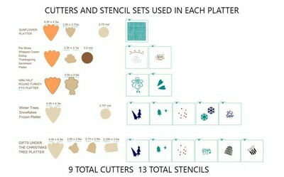 Mega Platter Collection (9 cutters)