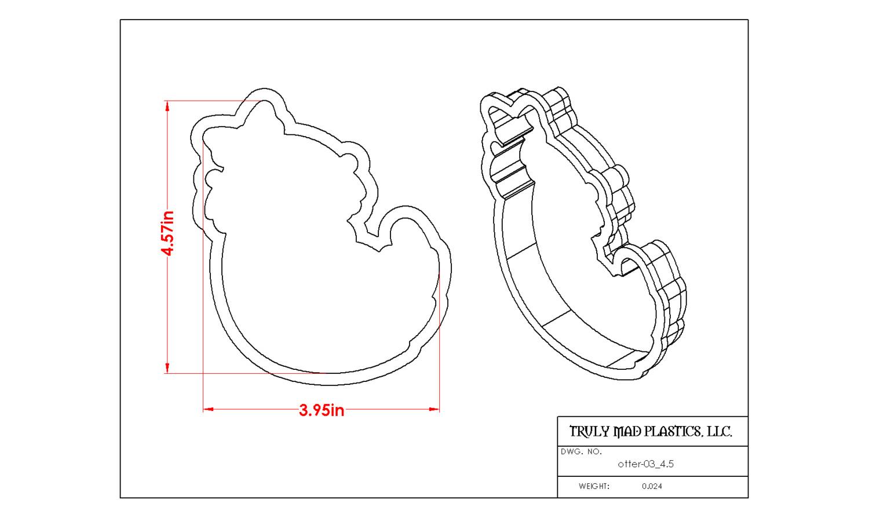hight resolution of otter diagram