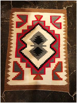 Vintage Aztec Tapestry
