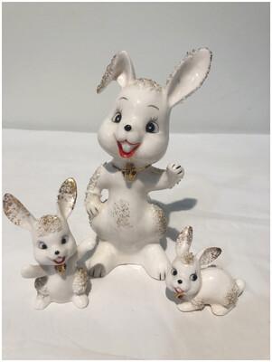 Set Of Three Bunnies