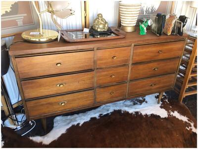 Mid Century Bassett Dresser