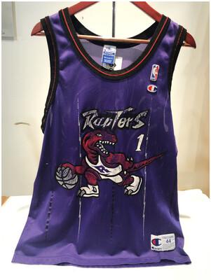 Vintage NBA Toronto Raptors No 1 Jersey