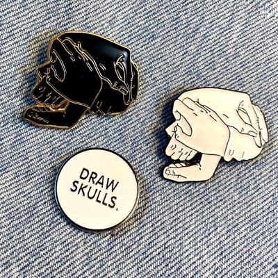 Skull Pin Set