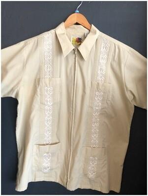 Men's Vintage Genuine Haband Guayabera Shirt