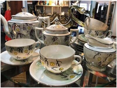 Vintage Lusterware Tea Set
