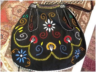 Vintage Boho Mexican Apron