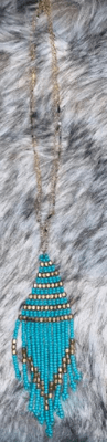 Electric picks E5247 dance turquoise necklace