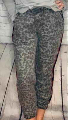 Vintage Havana leopard print pants