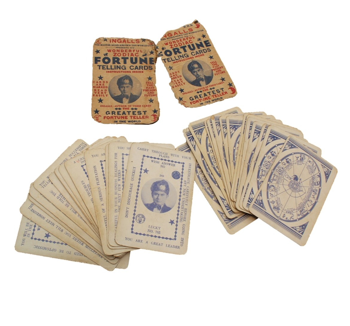 Ingall's Zodiac Fortune Telling Cards