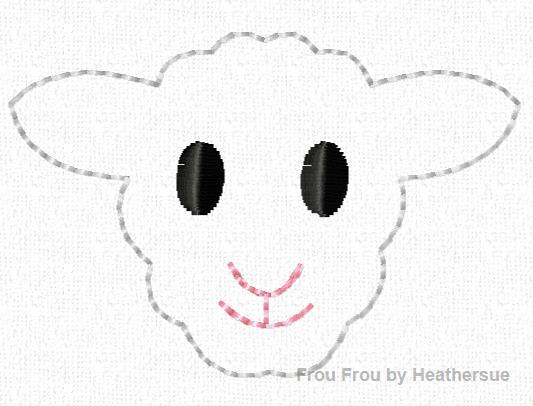Clippie Farm Animals SEVEN Design SET Machine Embroidery