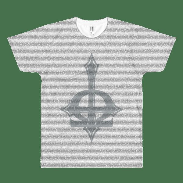 Trumpery Resistance Litho-Book Print Short sleeve men's t-shirt