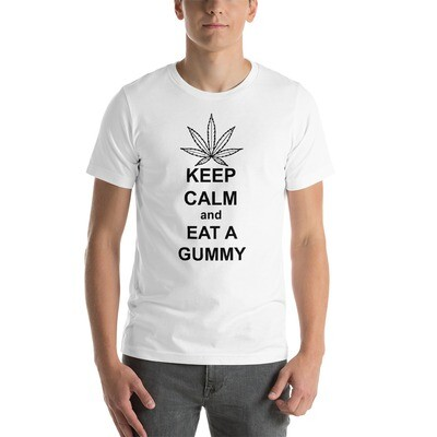 KEEP CALM GUMMY Short-Sleeve Unisex T-Shirt