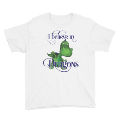 Gus the Garden Dragon Youth Short Sleeve T-Shirt