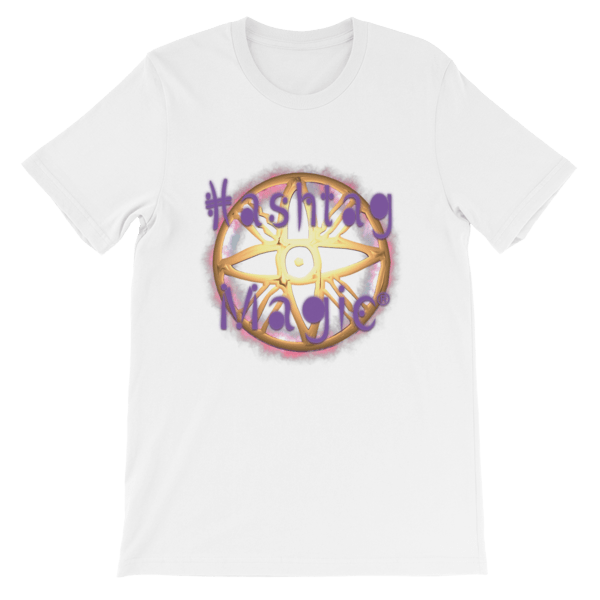 Hashtag Magic® Logo Short-Sleeve Unisex T-Shirt 00037