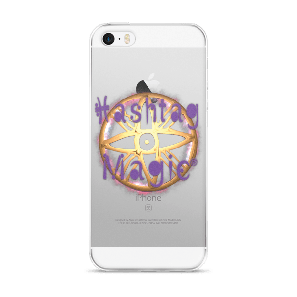 Hashtag Magic® Logo iPhone Case 000096709935