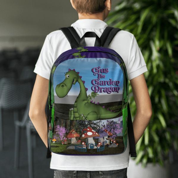 Gus the Garden Dragon Backpack 00046