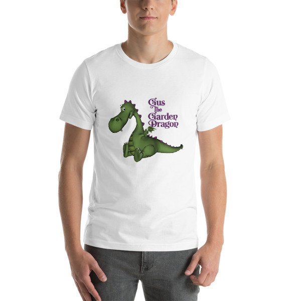 Gus the Garden Dragon Short-Sleeve Unisex T-Shirt 000124903242